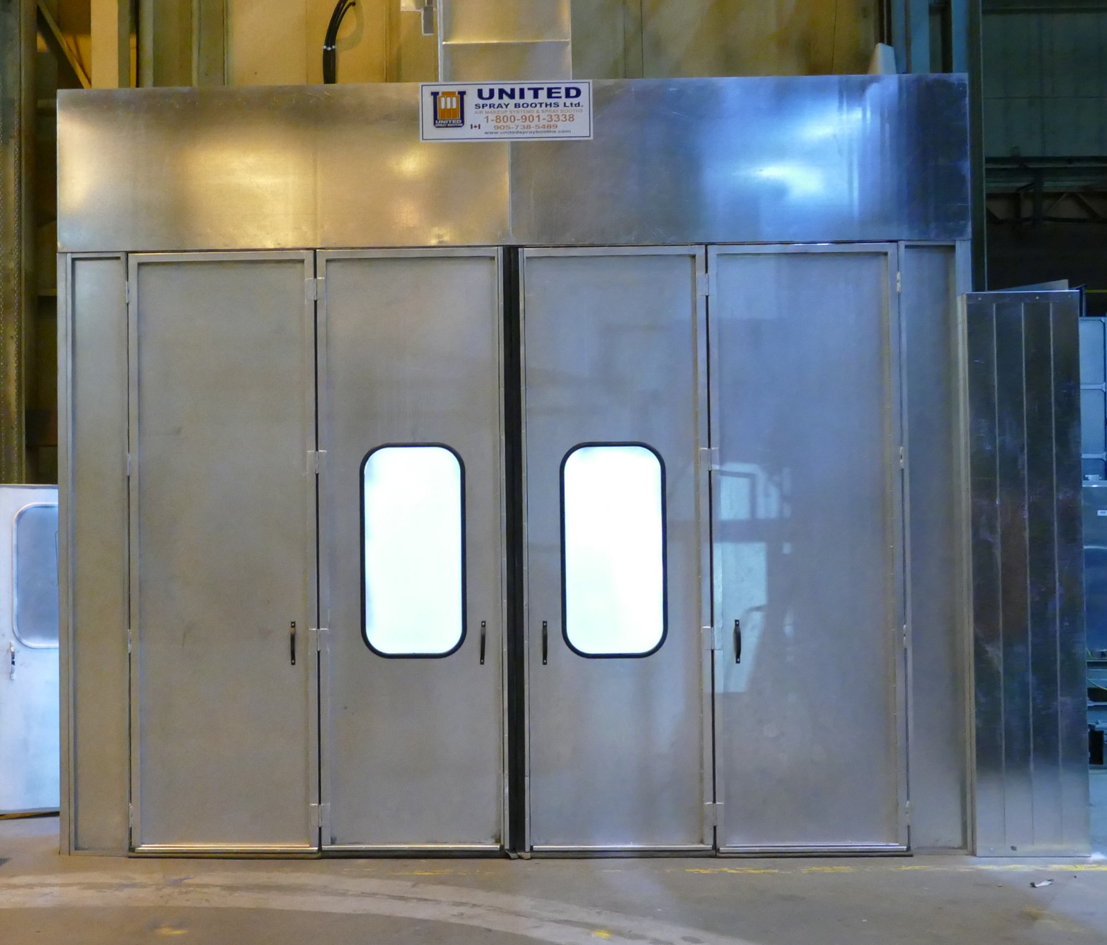 Paint Booth Rental >> Blast And Paint Booth Services