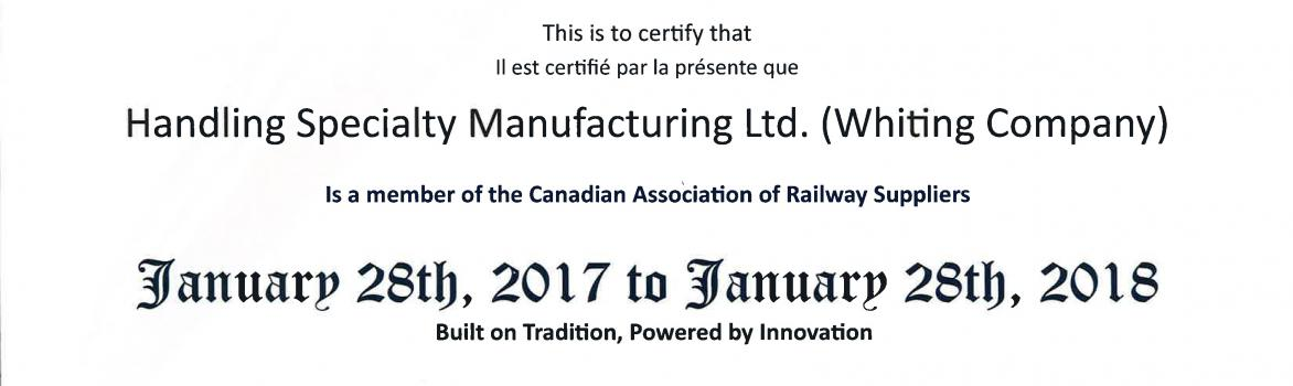 Canadian Association of Railway Suppliers