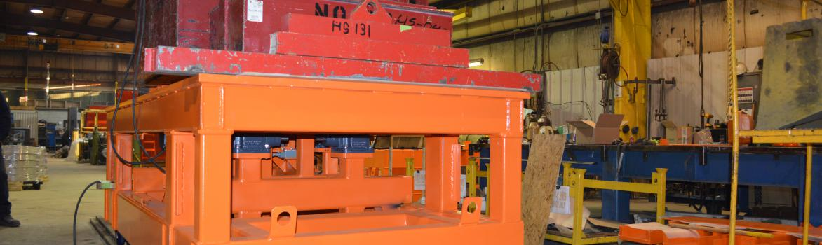 Heavy-Duty Steel Destacking Carts in Action