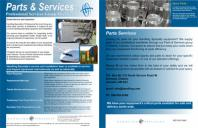 Parts and Services brochure