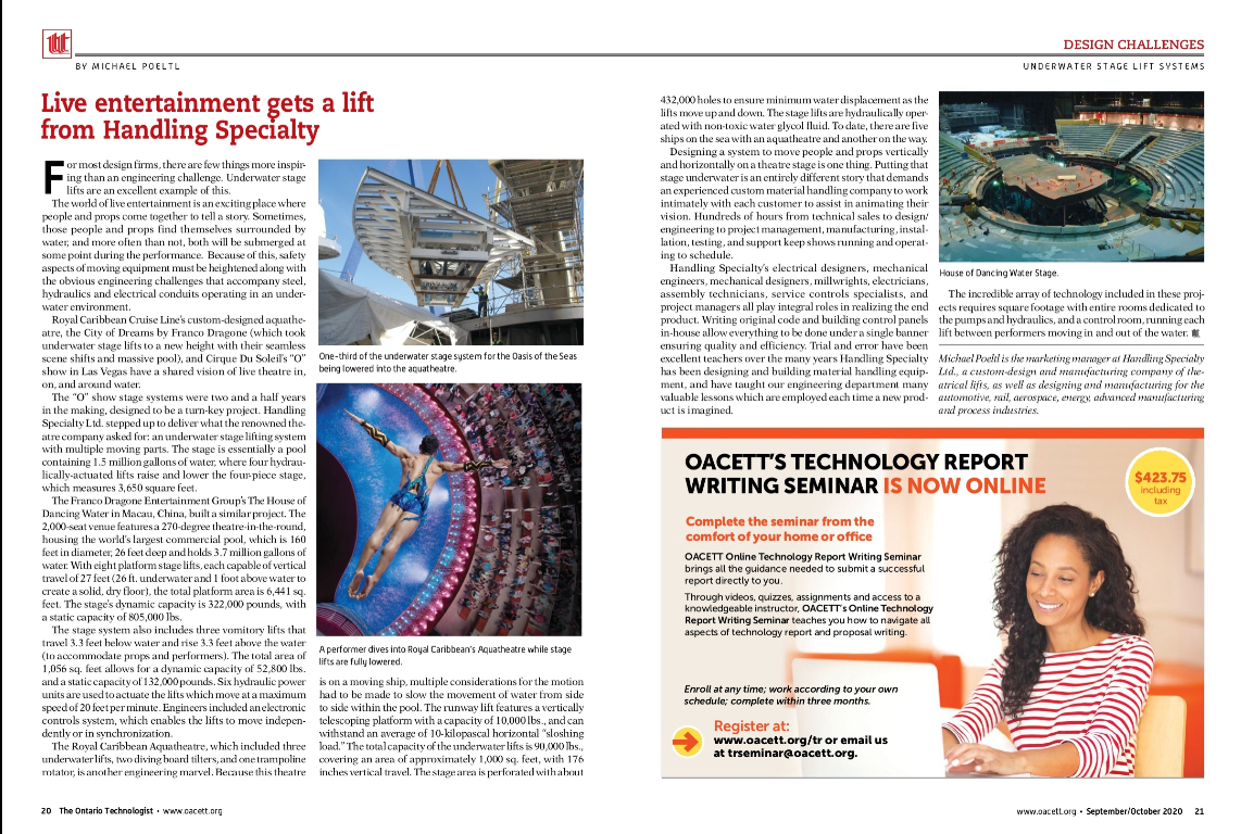 OACETT Mag article