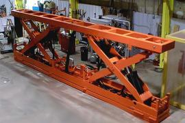Heavy Capacity Hydraulic Scissor Lift for Automotive Industry
