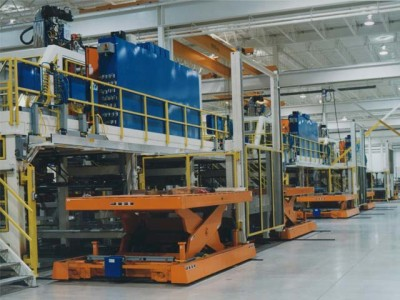 Blank Destacking Lifts at Automotive Stamping Plant
