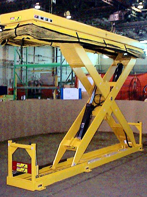 Assembling Hydraulic Elevator System : Automotive assembly line lift system handling specialty