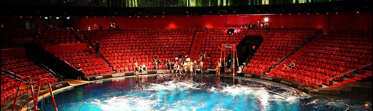 City of Dreams Underwater Stage Lifts