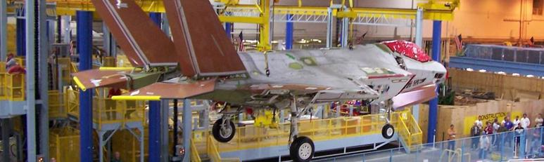 F-35 Wing Assembly Platforms