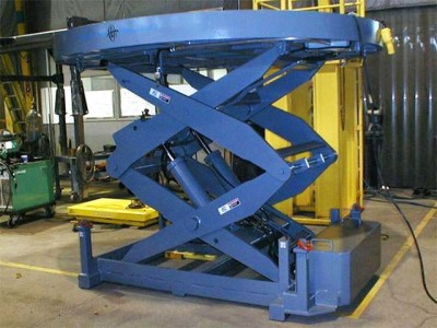 Ladle lift for steel industry