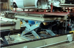 Automotive Assembly Line Scissor Lifts 2
