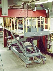 Scissor Lift for Nuclear Facility