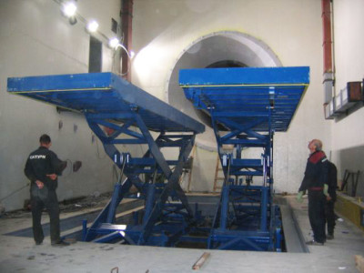 Jet Engine Test Cell Lift 3