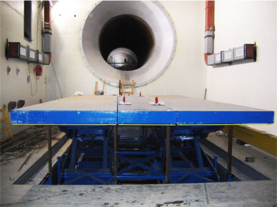 Jet Engine Test Cell Lift 4
