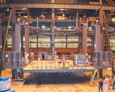Nuclear Retubing Platform in Test