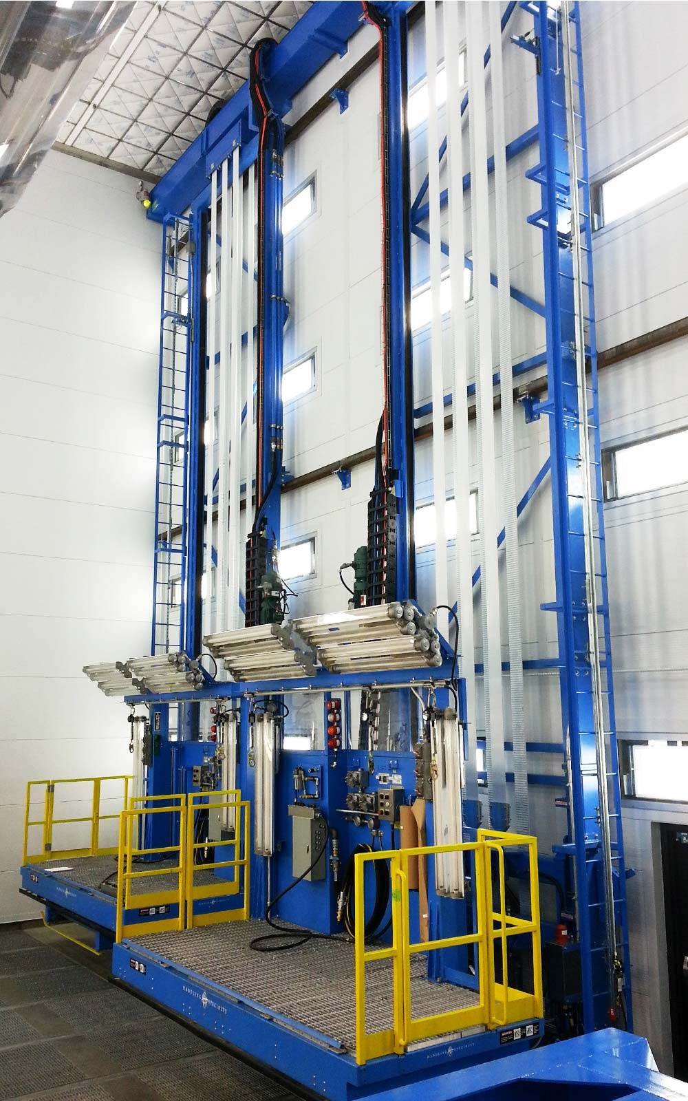 Max Advanced Brakes >> Explosion Proof Paint Booth Lifts for Aerospace Industry