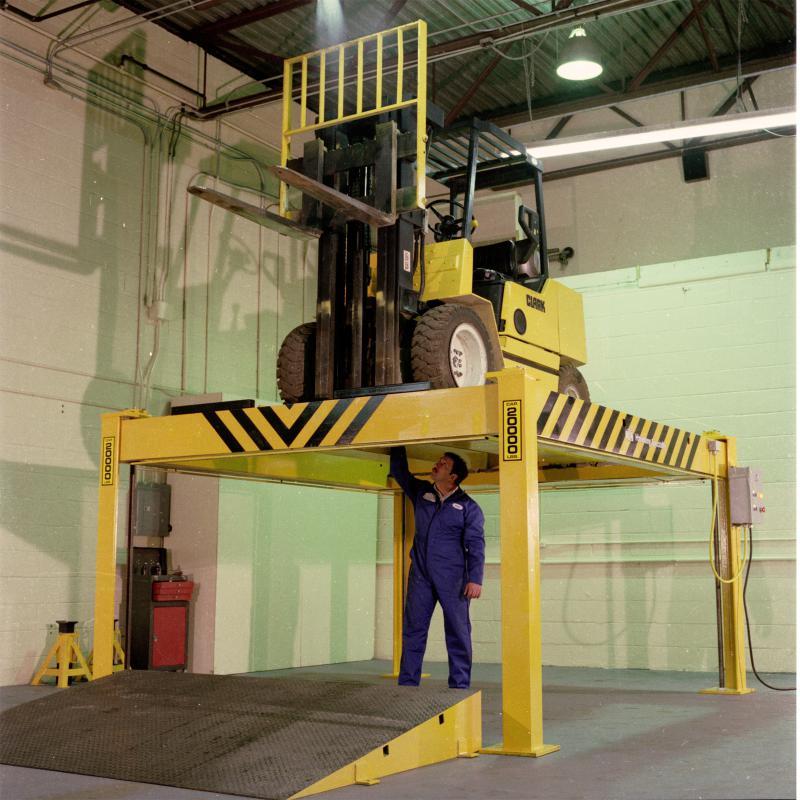 Acme Truck Parts >> Forklevator Fork Truck Service Lift » Handling Specialty
