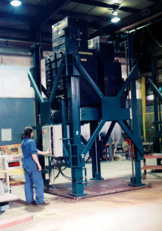 Pit Mounted Four Post Lift For Transformer Assembly