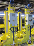 10 ton rail vehicle jacks