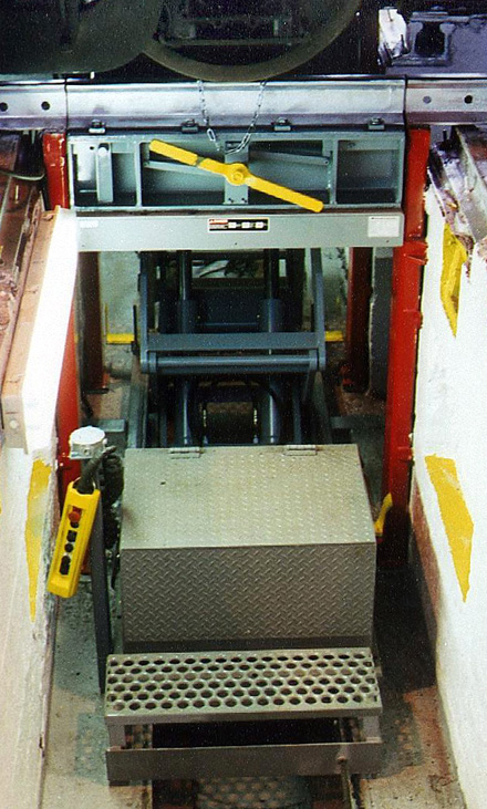 Railcar Wheelset Changeout System