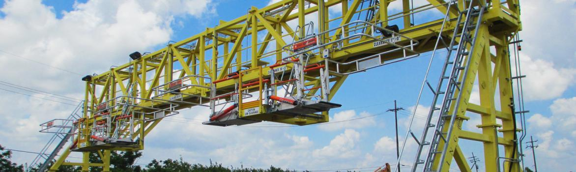 Self-Propelled Rail Gantry for Tank Car Facility