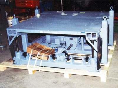 Shim table for rail application