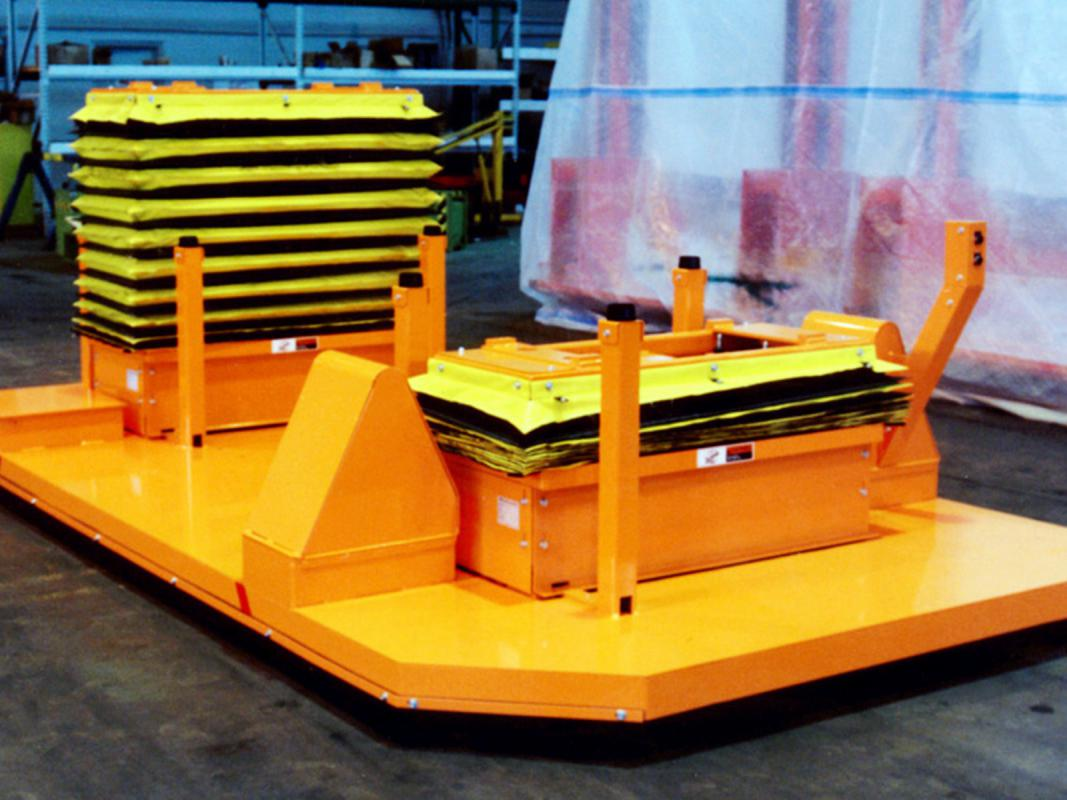 Custom Scissor Lifts For Automotive Marriage Application