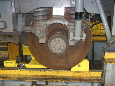 Traction Motor Dolly 038