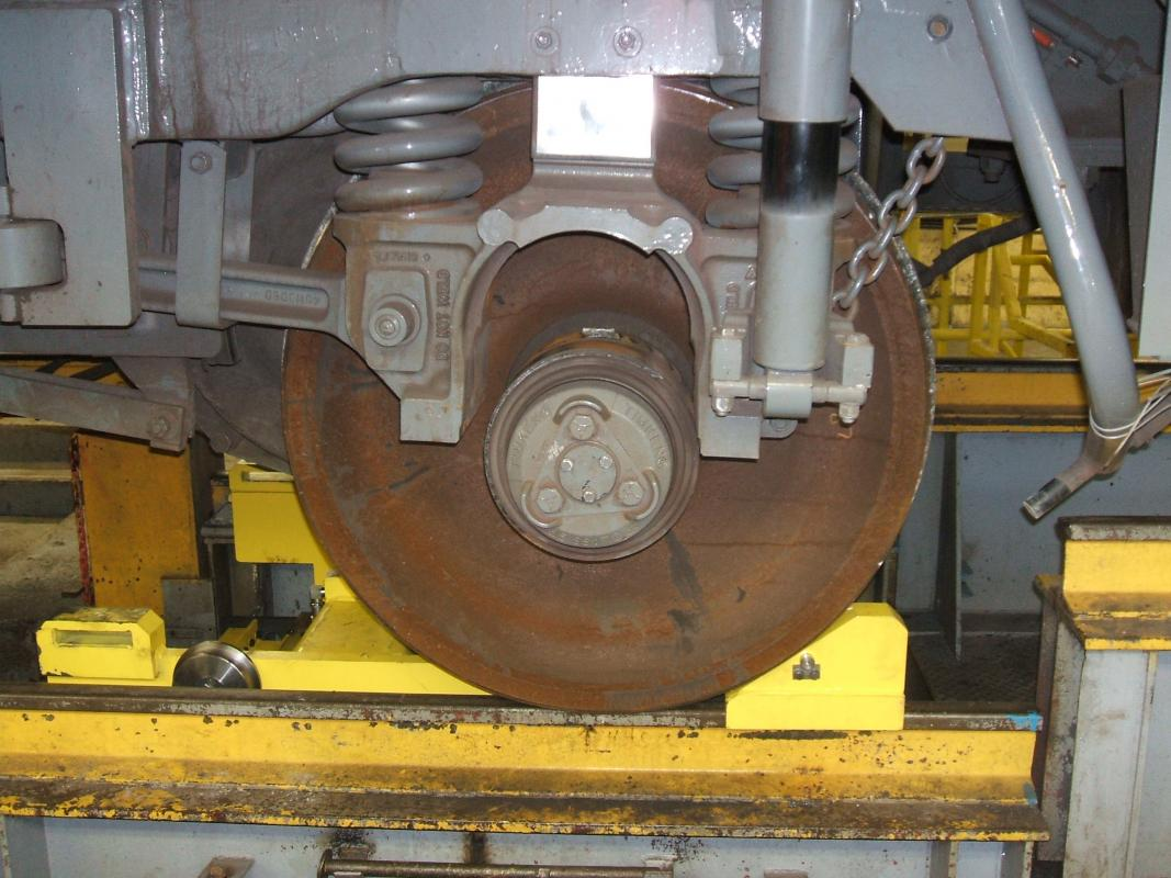 Traction Motor Dolly For Emd Sd70ace Locomotives