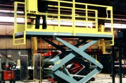 Rail Maintenance Gantry with Scissor Lift2
