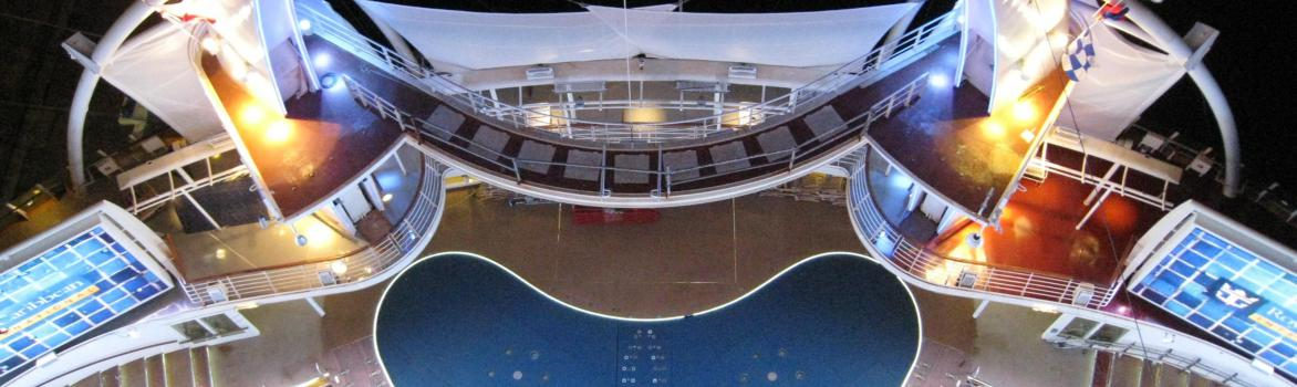 Underwater Lifts, Diving Boards and Trampoline for Royal Caribbean Cruise Line ships