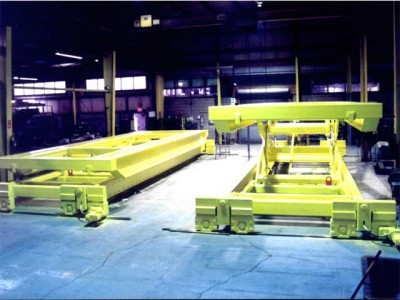 Two Heavy Duty Wagon Lifts for the Entertainment Industry